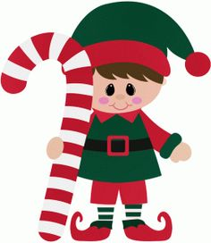 Elf clipart candy cane Store! from with Candy in