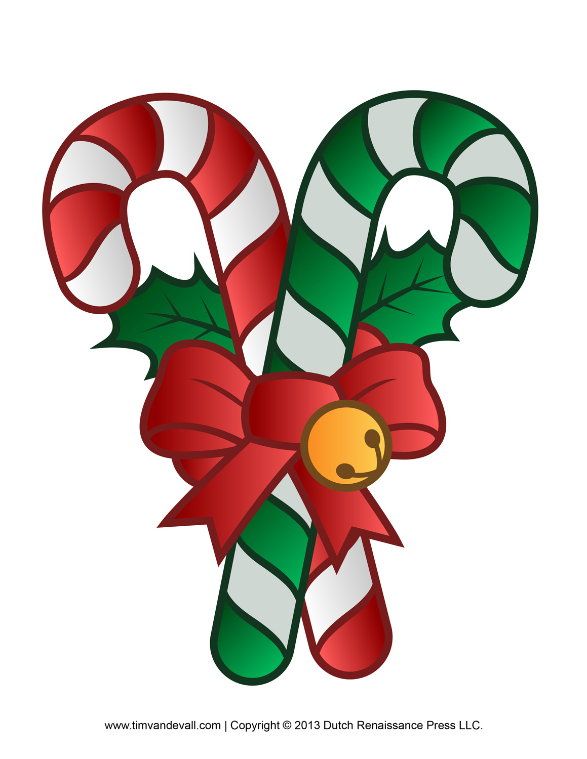Reindeer clipart candy cane #5