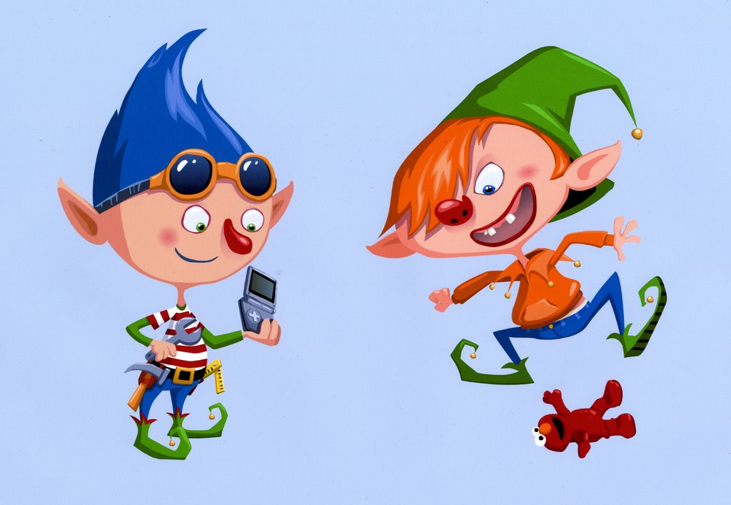 Elf clipart cheeky Just wish you animation: are
