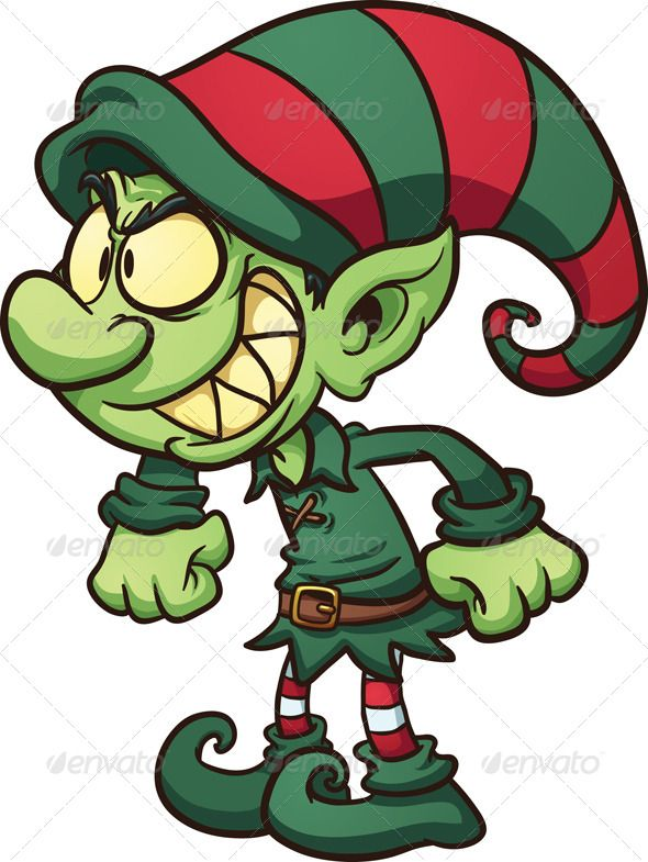 Elf clipart cheeky DUENDES!!! on Pinterest Christmas images