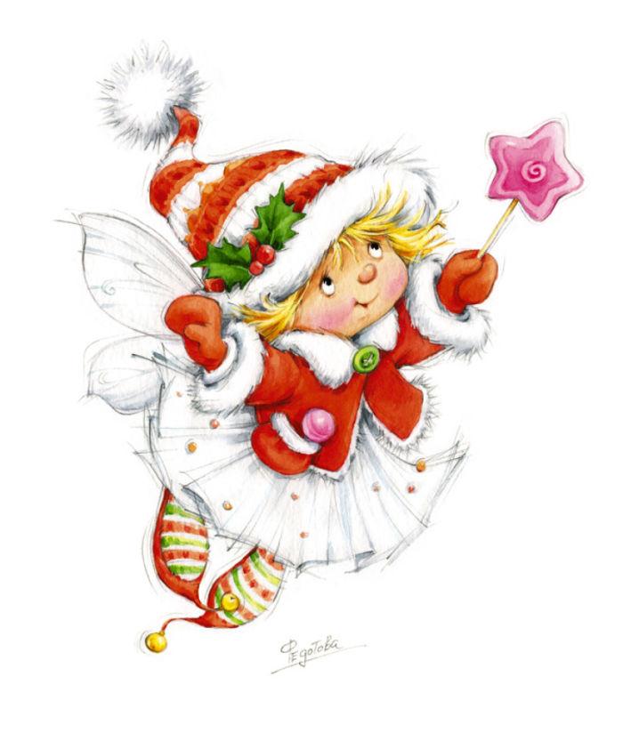 Elf clipart children's Jpg mf Fedotova produce Marina