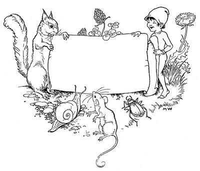 Elf clipart children's Art Vintage Art Children's Children's
