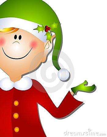 Elf clipart children's Holiday elf Free Thank Clipart