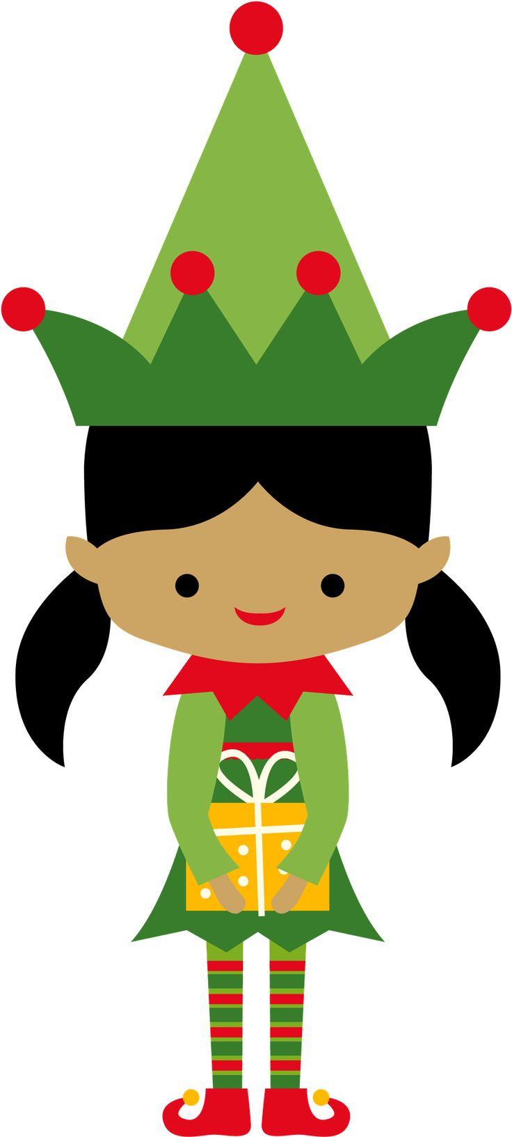 Elf clipart children's Hello! Minus / Christmas Elves