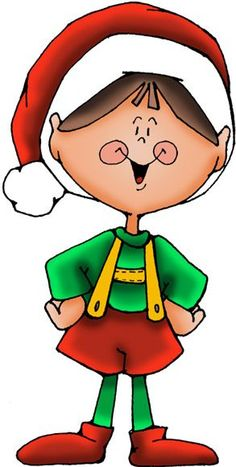 Elf clipart christmas gifts Cane DUENDE elf GraphicsChristmas