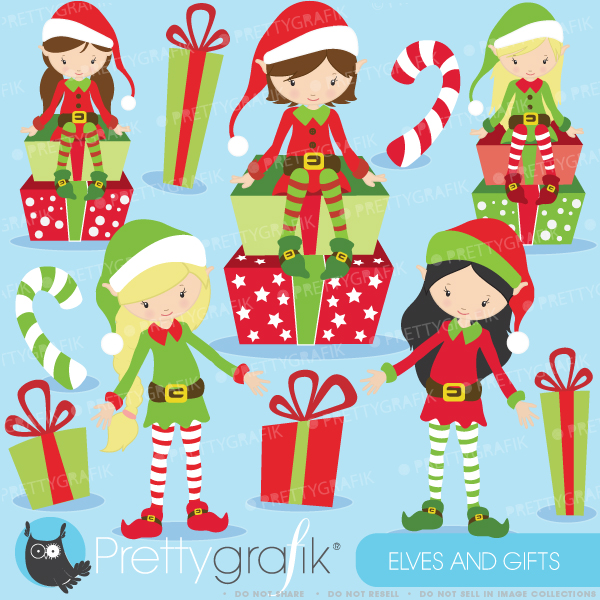 Elf clipart christmas gifts Elves $0 Elves clipart elves