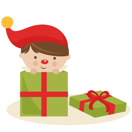 Elf clipart christmas presents Files in Boy Elf in