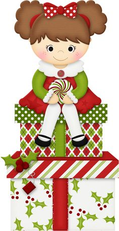 Elf clipart christmas presents Яндекс CLIPART CLIP ART Christmas