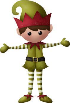 Elf clipart christmas spirit Christmas elf art Spirit boy