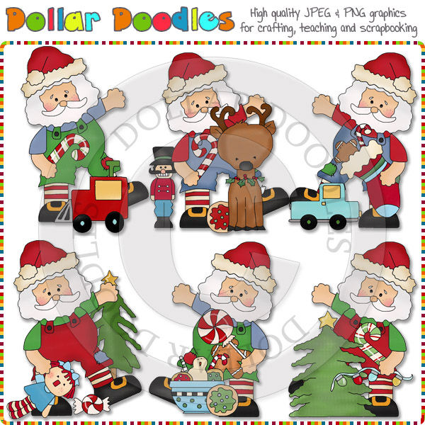 Elf clipart christmas spirit [RS98465 Be Be Clause Spirit