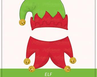 Elf clipart collar Elf Elf Collar Etsy and