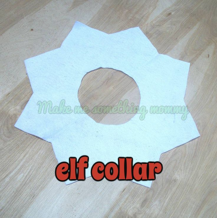 Elf clipart collar Costume collar shelf accessory Photo