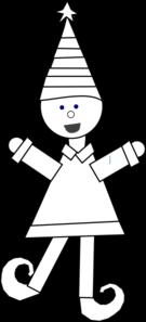 Elf clipart coloring Book clip Art com Art