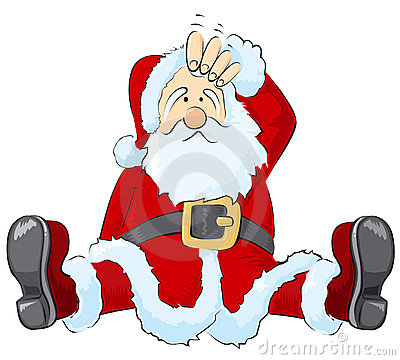 Elf clipart confused Clipart Resolution Santa Confused 400x360