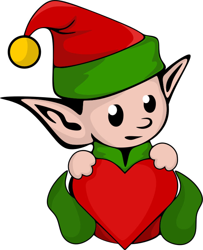 Elf clipart cute Cute Free Elf Use Clip