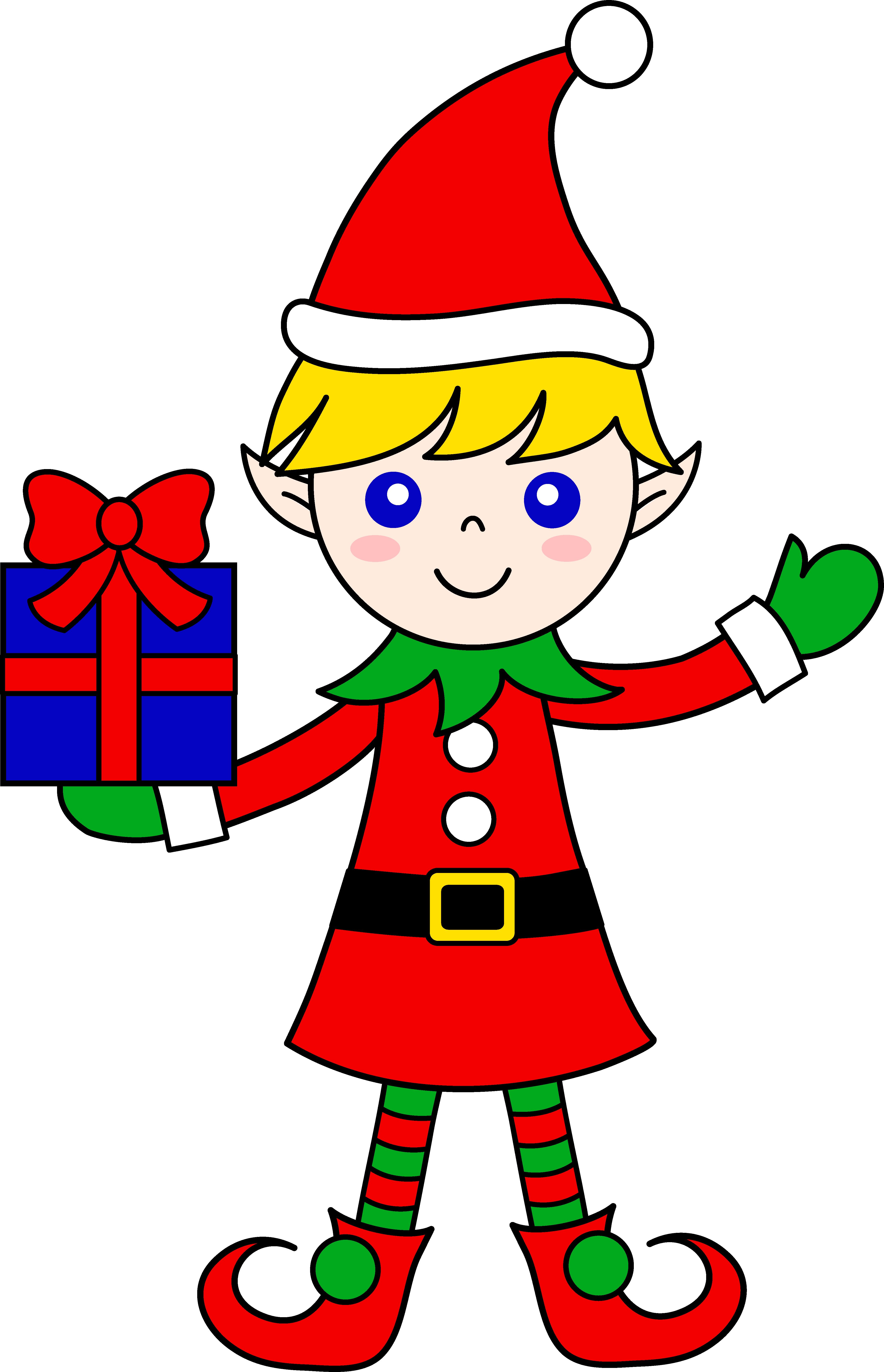 Elf clipart cute Christmas Christmas Art With Art
