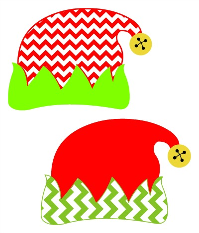 Elf clipart elf hat  Christmas Elves SVG Elf