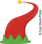 Elf clipart elf hat Illustrations art images red hat
