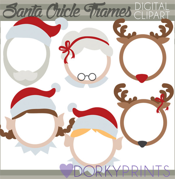 Elf clipart frame Limited and Frames Personal Claus