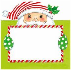 Elf clipart frame CHRISTMAS Λευκώματα Iστού PRINTABLE TARJETITAS