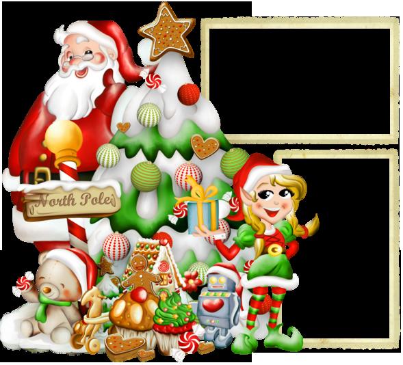 Elf clipart frame Elf Photo Frame Tags: Santa