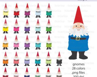Gnome clipart garden gnome Gnome Clipart PNG files Gnome