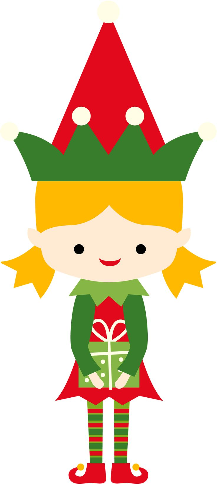 Elf clipart girly Minus on Pinterest ClipartChristmas Natal