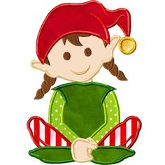 Elf clipart girly Christmas and  Pinterest this
