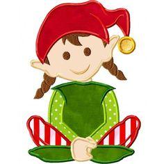 Elf clipart girly Pinterest plates art this Natal