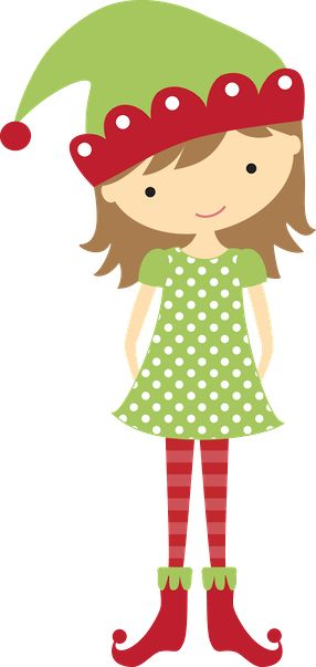 Elf clipart girly Minus ClipartChristmas Natal on about