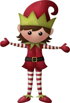 Elf clipart girly Clipart Cute Elf Free The