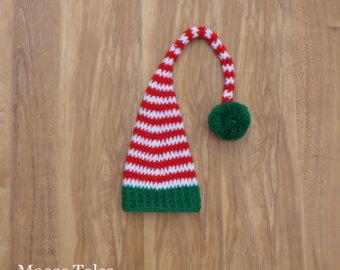Elf clipart green santa hat Newborn Newborn Prop Newborn Christmas