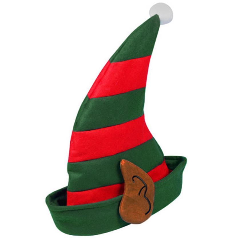Elf clipart green santa hat CHRISTMAS HAT DRESS PIXIE NOVELTY