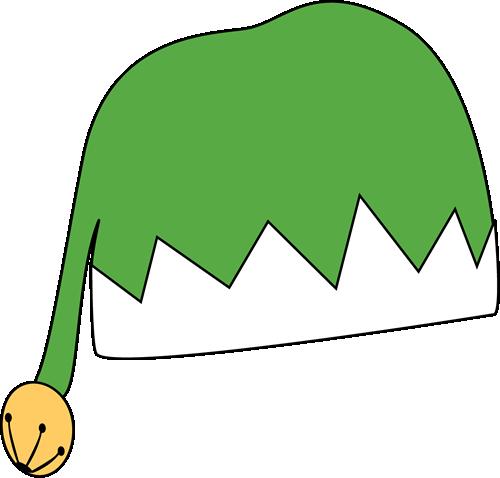 Elf clipart green santa hat Green Christmas Christmas Art Clip