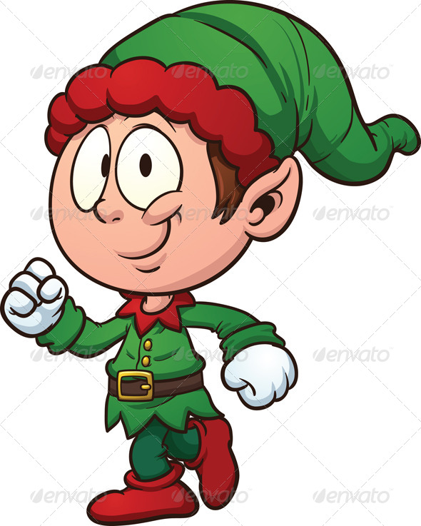 Elf clipart happy holiday Christmas Christmas Elves Best Elf