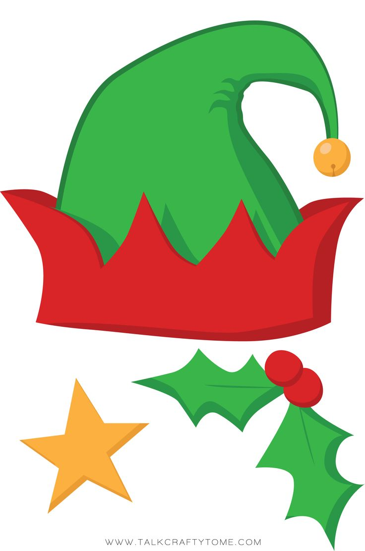 Elf clipart holiday hat Elf Hat Free Cliparts Clip