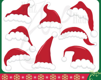 Realistic clipart santa hat Claus Santa hat Clipart Santa