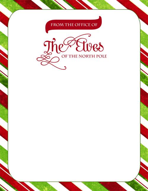 Elfen clipart letterhead The Elf Letterhead ON Elves