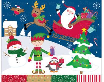 Elf clipart monster Clipart Christmas Monster Clip Monster