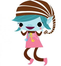 Elf clipart on beach The clipart Girl Scout brownies
