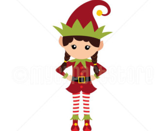 Elf clipart on beach Art Download Clip Art Clip