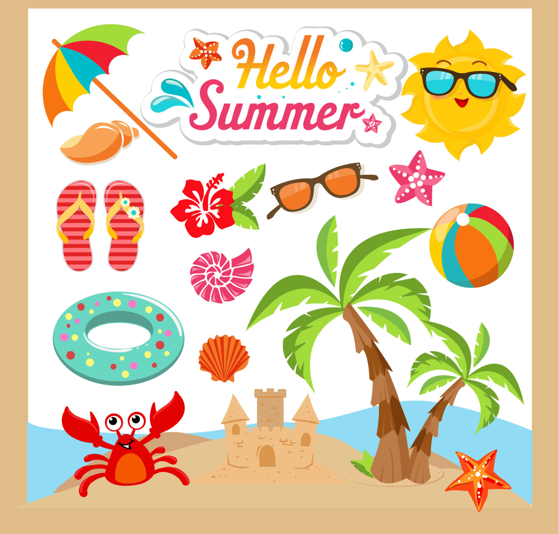 Photos clipart summer Etsy Clipart Clip Art Summer