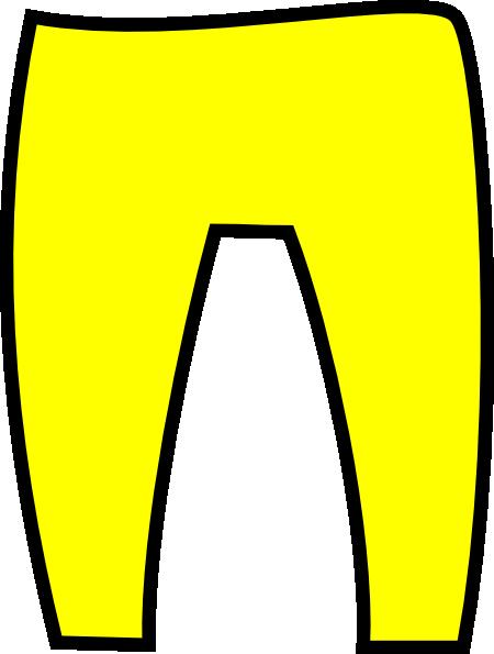 Elf clipart pants Clker Yellow  clip Clip