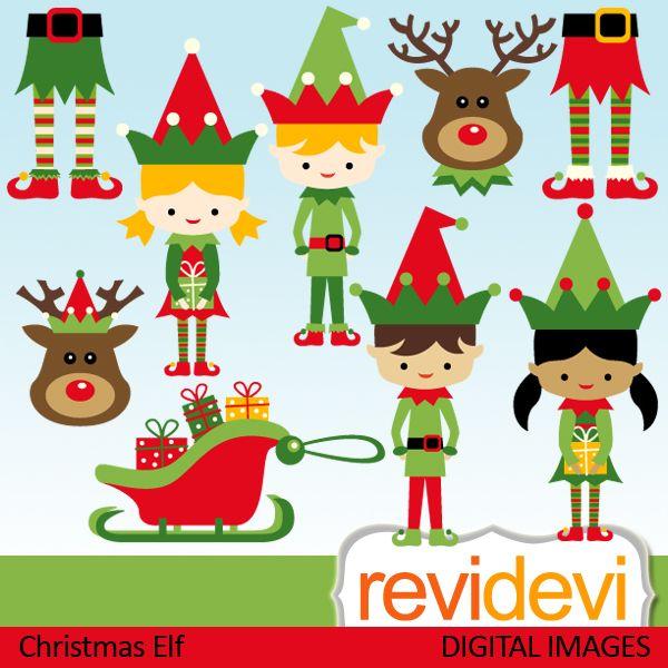 Elfen clipart cute Elf reindeer 25+ images girls