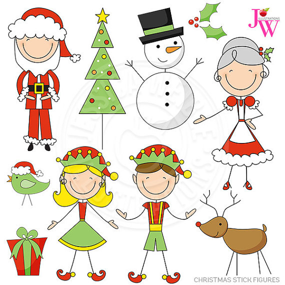Elf clipart party Clipart Christmas Art Christmas Il_570xn