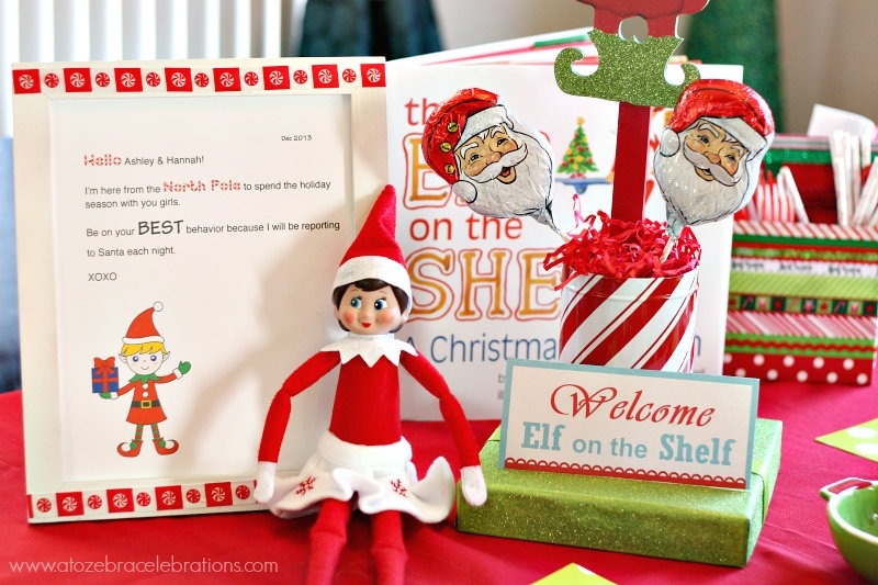 Candy Cane clipart elf on shelf Breakfast the 11 Celebrations to