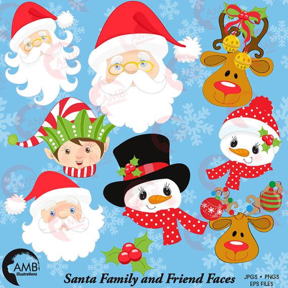 Elf clipart party Clipart Christmas  Christmas Il_570xn