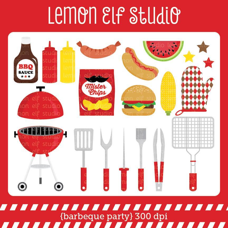 Elf clipart party Lemon Studio Cliparts Lemon Studio