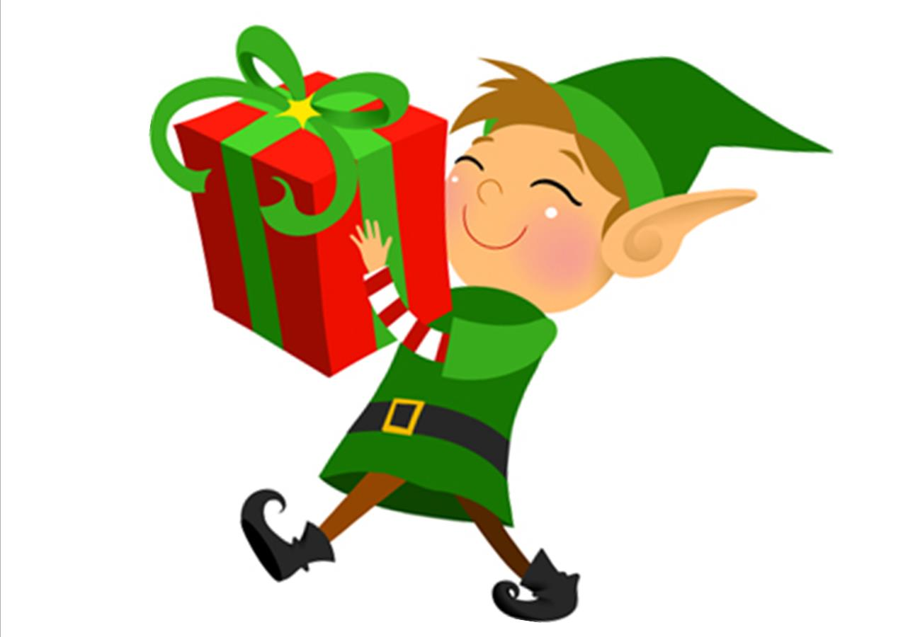 Elf clipart reminder Coming you remind Dimmick programs