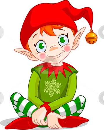 Elfen clipart santa's workshop Christmas_elf  vector by Christmas